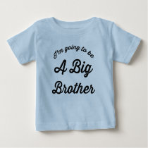 I'm going to be a Big Brother T Shirt Blue