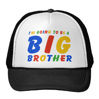 I'm Going To Be A Big Brother Trucker Hat