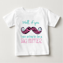 I'm Going to be a Big Sister Baby T-Shirt