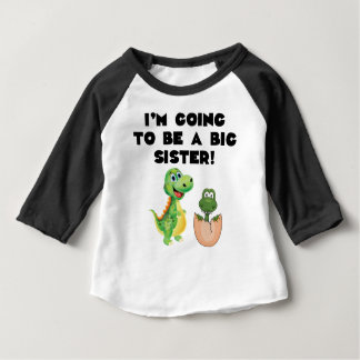 I'm Going To Be A Big Sister Infant T-shirt