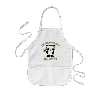 I'm Going To Be A Big Sister Kids' Apron