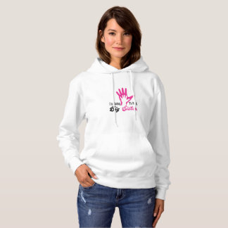 I'm Going To Be A Big Sister Newborn Hoodie