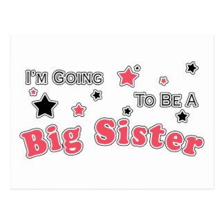 I'm Going to Be a Big Sister Postcard