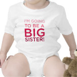 I'm Going to be a Big Sister Rompers