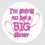 I'm going to be a Big Sister Stickers
