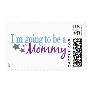 I'm going to be a mommy postage