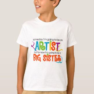 I'm Going to be an Artist Big Sister Tshirt
