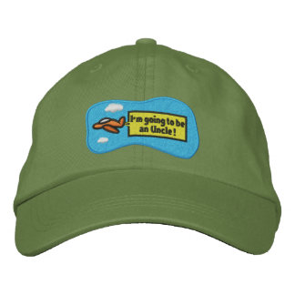 I'm Going to be an Uncle! Embroidered Baseball Cap