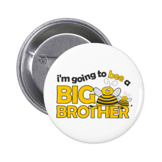 I'm Going to BEE a Big Brother T-shirt 2 Inch Round Button
