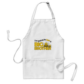 I'm Going to BEE a Big Brother T-shirt Adult Apron