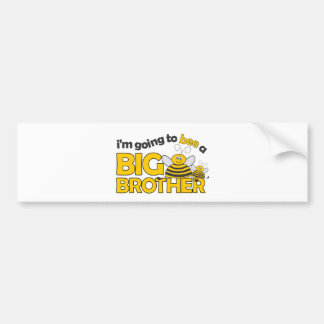 I'm Going to BEE a Big Brother T-shirt Car Bumper Sticker