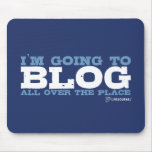 I'm going to blog all over the place (LiveJournal) Mouse Pad
