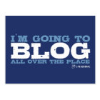 I'm going to blog all over the place (LiveJournal) Postcard