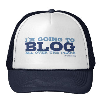 I'm going to blog all over the place (LiveJournal) Trucker Hat