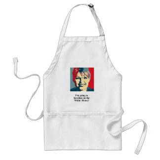 I'm going to foreclose on the White House Adult Apron