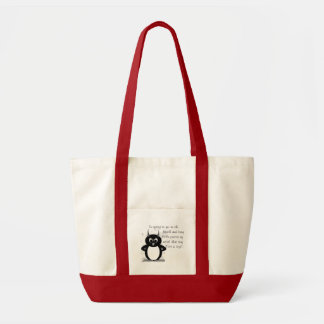 I'm going to go to the beach and bury . . . tote bag