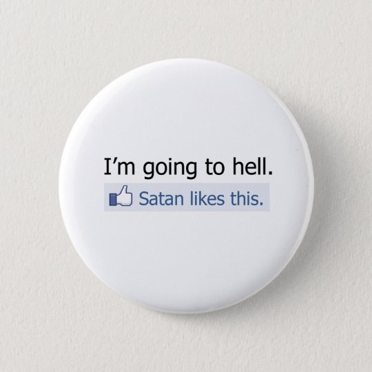 I'm going to hell button
