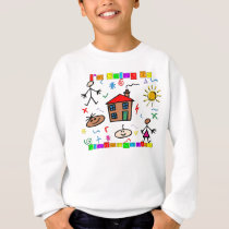 I'm Going to Kindergarten Sweatshirt