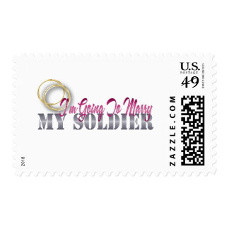I'm Going To Marry My Soldier Postage