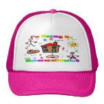 I'm Going to Preschool Mesh Hats