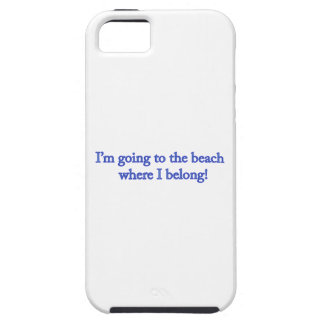 I'm Going To The Beach iPhone SE/5/5s Case