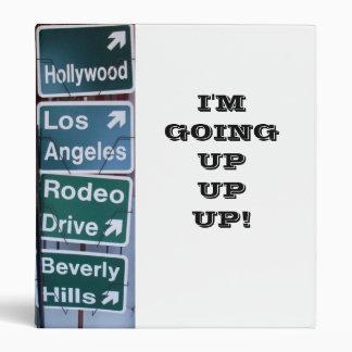 I'M GOING UP,UP! binder