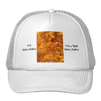 I'm Golden hats You're Golden hats Leaves Gold