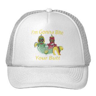 I'm Gonna Bite Your Butt Trucker Hat