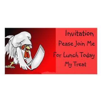 I'm Gonna Have Me Some Beef! - Designer Invitation Photo Card