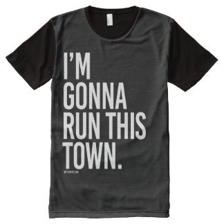 I'm gonna run this town -   Running Fitness -.png All-Over Print Shirt