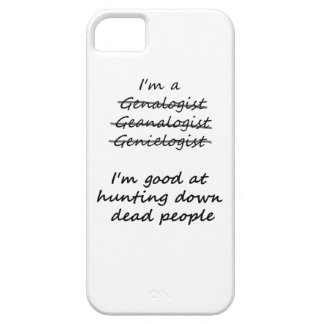 I'm Good at Hunting Down Dead People iPhone SE/5/5s Case
