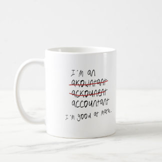 I'm good at math coffee mugs
