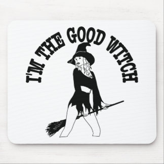 Im Good Witch Mouse Pad