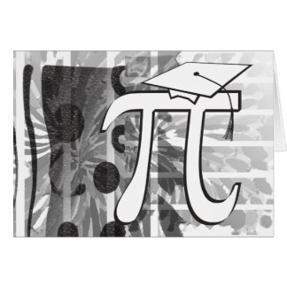 I'm Graduating - Pi Graduate - Funny Graduation Card