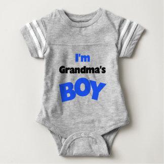 I'm Grandma's Boy Baby Bodysuit