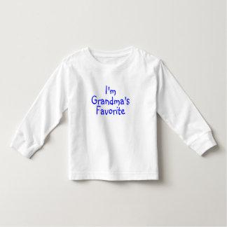 Im Grandmas Favorite Blue Toddler T-shirt