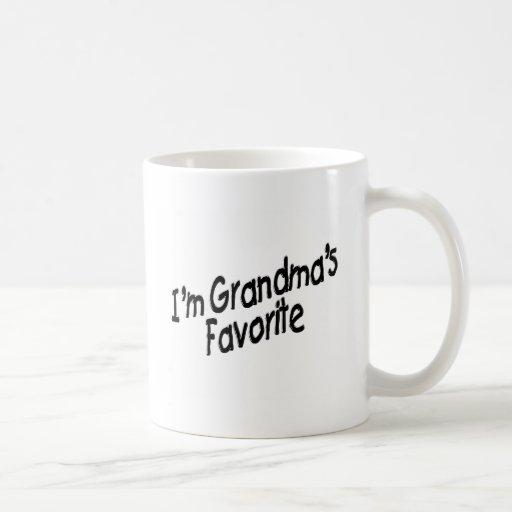 I'm Grandma's Favorite Mug