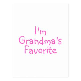 Im Grandmas Favorite Pink Postcard