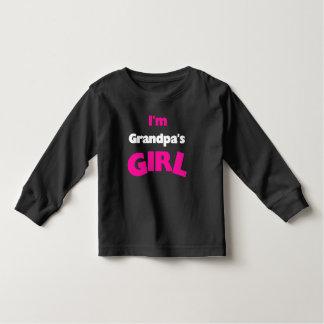 I'm Grandpa's Girl Toddler T-shirt