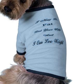 Im grasa camisetas mascota