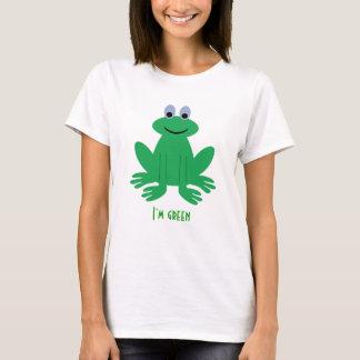 I'm Green Cute Frog T-Shirt