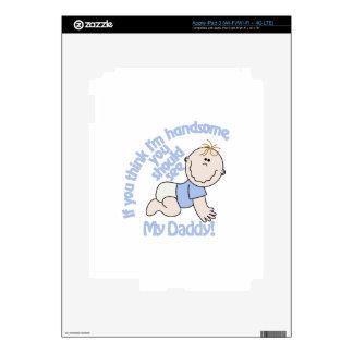 Im Handsome iPad 3 Decal