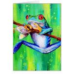 I'm Hanging On 2 Greeting Cards