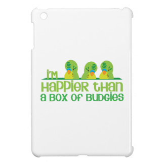 I'm happier than a box of budgies New Zealand Cover For The iPad Mini