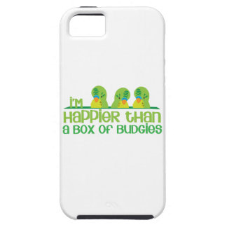 I'm happier than a box of budgies New Zealand iPhone SE/5/5s Case