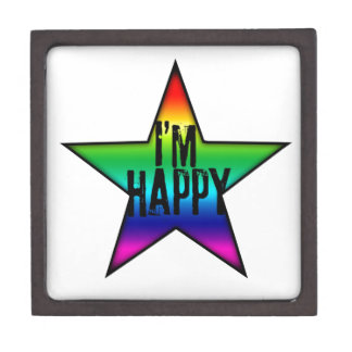 I'm Happy Gay and Star Jewelry Box