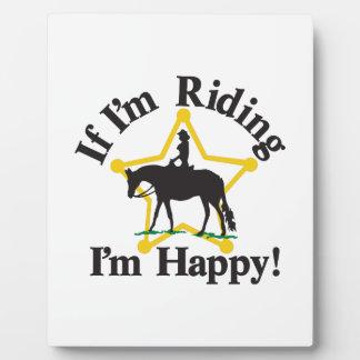 Im Happy Plaque