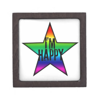 I'm Happy Star and Gay Jewelry Box