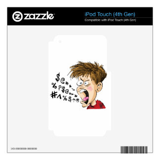 I'm having a BAD DAY! iPod Touch 4G Decal