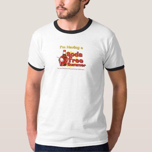 """I'm having a Soda Free Summer"" Ringer shirt"